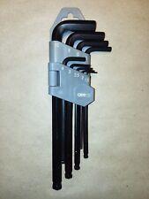 9pc Ball Hex Key Set METRIC 1.5mm 2mm 2.5mm 3mm 4mm 5mm 6mm 8mm 10mm