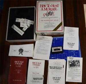 How To Host A Murder: The Watersdown Affair Fun Dinner Party Game Tape