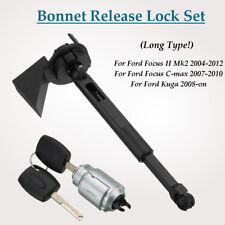 For Ford Focus Mk2 C-max 2007-2010 Kuga Long Type Bonnet Hood Release Lock