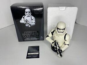 Gentle Giant  Star Wars First Order Stormtrooper Mini Bust 1812/3700