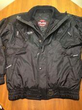 HJC Cirolux Reflective Stripe Snowmobile Jacket Sled jacket Mens M Black