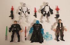 Hero Mashers Star Wars - Darth Vader, Luke Skywalker, Han Solo + 2 Stormtrooper