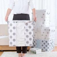 Foldable Storage Bag Clothes Blanket Quilt Closet Sweater Organizer Box Pouche C