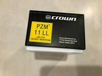 Crown PZM11LL Line Level Microphone (Brand New)