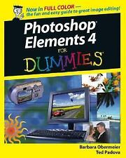 Photoshop Elements 4 For Dummies (For Dummies (Computers))