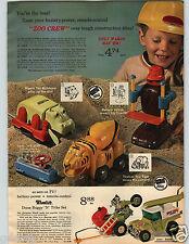 1971 Paper Ad 3 Pg Zoo Crew Hippo Bulldozer Wheelie's Dune Buggy Comic Jet Chimp