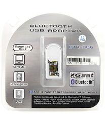 GlobalSat BTA-806 USB BLUETOOTH V2.0 DONGLE WIRELESS PC Desktop Laptop Adapter