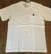 NWT Men's Uniqlo x KAWS x Peanuts Snoopy Pocket Short Sleeve Tee M White