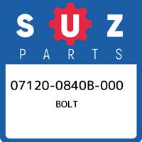 07120-0840B-000 Suzuki Bolt 071200840B000, New Genuine OEM Part