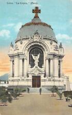 LA CRIPTA LIMA PERU POSTCARD (c. 1910)