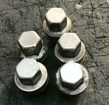 RANGE ROVER SPORT DISCOVERY 3 OR 4 CHROME WHEEL NUTS GENUINE x5 2005 TO 2013