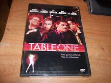 Table One (DVD, 2003, WS  FF) Luis Guzman Stephen Baldwin Comedy Movie NEW