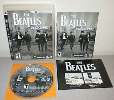 THE BEATLES ROCKBAND PlayStation 3 Day 1 w/Manual George Harrison John Lennon