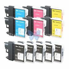 11 PACK LC65 Ink Set for Brother MFC-5890CN MFC-5895CW MFC-6490CW MFC-6890CDW