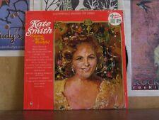 KATE SMITH, O COME ALL YE FAITHFUL - CHRISTMAS LP
