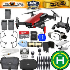 DJI Mavic Air (Flame Red) 3 BATTERY All You Need Bundle IN STOCK NEW
