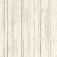 Rasch Textil Tapete 128836 madera aspecto Tablón de Beige Papel pintado fibra