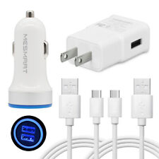 New listing For Samsung Galaxy A01 A02S A10e A11 A12 Cell Phone Wall Car Charger Usb C Cord
