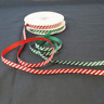 Bertie's Bows Candy Cane Merry Christmas Grosgrain Craft Ribbon Selection