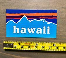 Hawaii Sticker Decal Mountains Mauna Kea Maui Kona Brewing Waikiki Hawaiian Honu