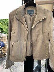 Nine West Ladies Leather Jacket medium 10/12