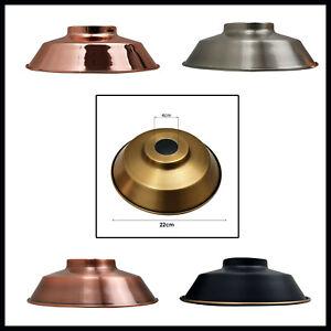 Modern  Retro Style Lounge Metal Pendant Shades Ceiling Light Lampshade Lighting