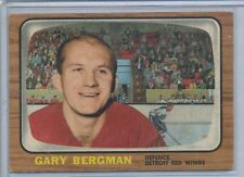 1966-67 O-Pee-Chee Hockey #47 Gary Bergman Red Wings EX