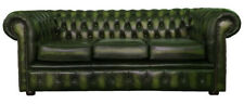 Canapés vertes en cuir pour la maison
