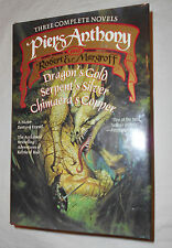 THREE COMPLETE NOVELS by PIERS ANTHONY and ROBERT E. MARGROFF HC/DJ 1993