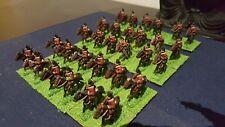 15 mm 7 ANS DE GUERRE BRITISH CAVALRY bien peint -32 Minis