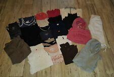 Bekleidungspaket 36/38 S/M  25 tlg. viele Marken Pullover,Hoodies, Kleid, Jacken