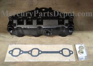 NEW OEM MERCRUISER V6/ 4.3L Exhaust Manifold 864612T01 Dry Joint