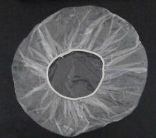 100 Pack Disposable Shower Caps Polythene Waterproof Hair Bath Travel DIY New