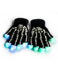 LED Skeleton Gloves, 1 pair