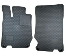 🔥 Genuine All Season Rubber Floor Mats Gray for Mercedes R230 SL-Class 03-12 🔥