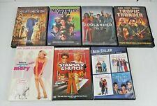 Lot of 10 Ben Stiller (Dvd, 9-Discs) Zoolander Mystery Men Museum Starksy Polly