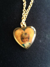 A COLLECTORS ITEM-PRINCESS DIANA HEART SHAPED NECKLACE  BRAND NEW (37 years old)