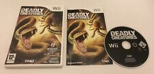 Deadly Creatures Nintendo Wii Complete PAL