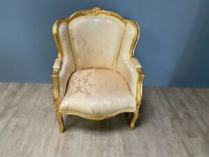 French style reproduction armchair