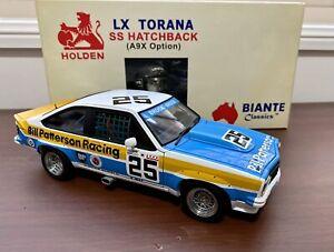 Biante 1/18 Peter Brock 1977 Bathurst LX Torana SS HatchBack (A9X Option)