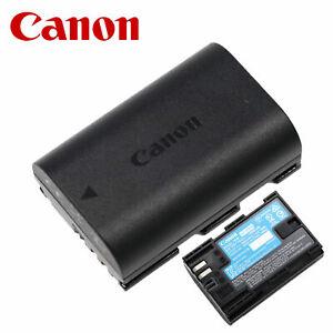 Genuine Canon Battery LP-E6 For EOS 70D 60D 80D 5D 6D 7D Mark II III
