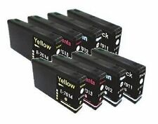 8x Tinta para Epson WorkForce Pro wp-4015dn wp-4095dw wp-4515dn WP4525DNF WP4545
