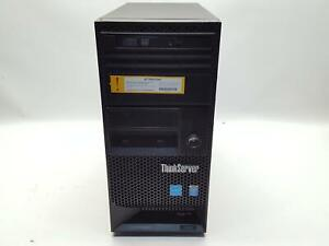 Lenovo ThinkServer TS140 Xeon E3-1225 v3 @ 3.20GHz, 8GB RAM, NO HDD  -QTY*