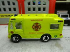 MATCHBOX FIRE MOBILE COMMAND EMERGENCY RESPONSE CUSTOM UNIT