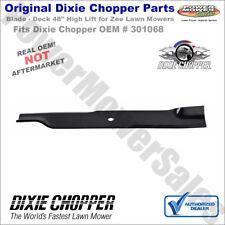 "Genuine Dixie Chopper Blade - Deck 48"" High Lift for Zee Lawn Mowers / 301068"