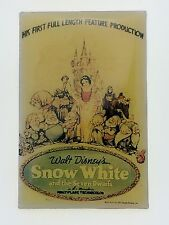 Disney Magical Moments Poster Series Snow White and the Seven Dwarfs Pin 1557 LE