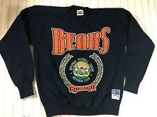 Chicago Bears Sweatshirt National Football League Members Club Navy Size Large