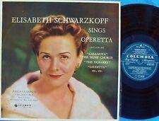 Elisabeth Schwarzkopf sings Operetta ORIG OZ LP NM '59 Columbia OEX9127 MONO