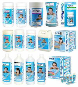 ClearWater Lay-Z-Spa Swimming Pool Hot Tub Chemicals Accessories