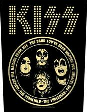 More details for official licensed - kiss - hailing from nyc back patch rock simmons